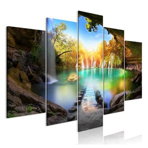 cuadros de paisajes en tres partes