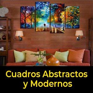 cuadros tripticos abstractos y modernos