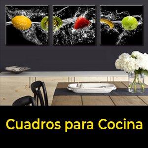cuadros tripticos para Cocina